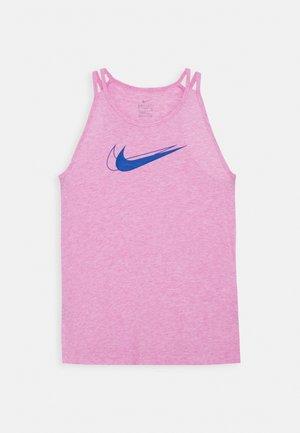 TROPHY TANK - Sports shirt - magic flamingo/hyper blue