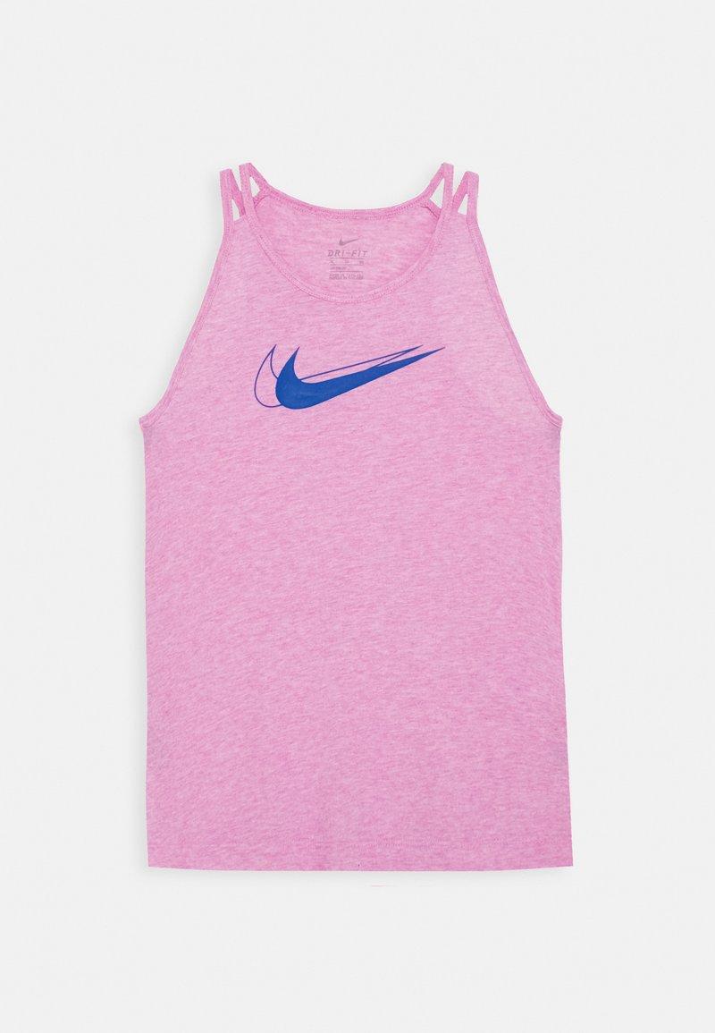 Nike Performance - TROPHY TANK - T-shirt de sport - magic flamingo/hyper blue