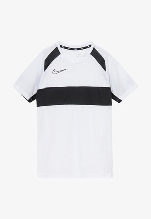 DRY ACADEMY  - Sports shirt - white/black