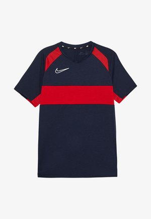 DRY ACADEMY  - Camiseta de deporte - obsidian/university red/white
