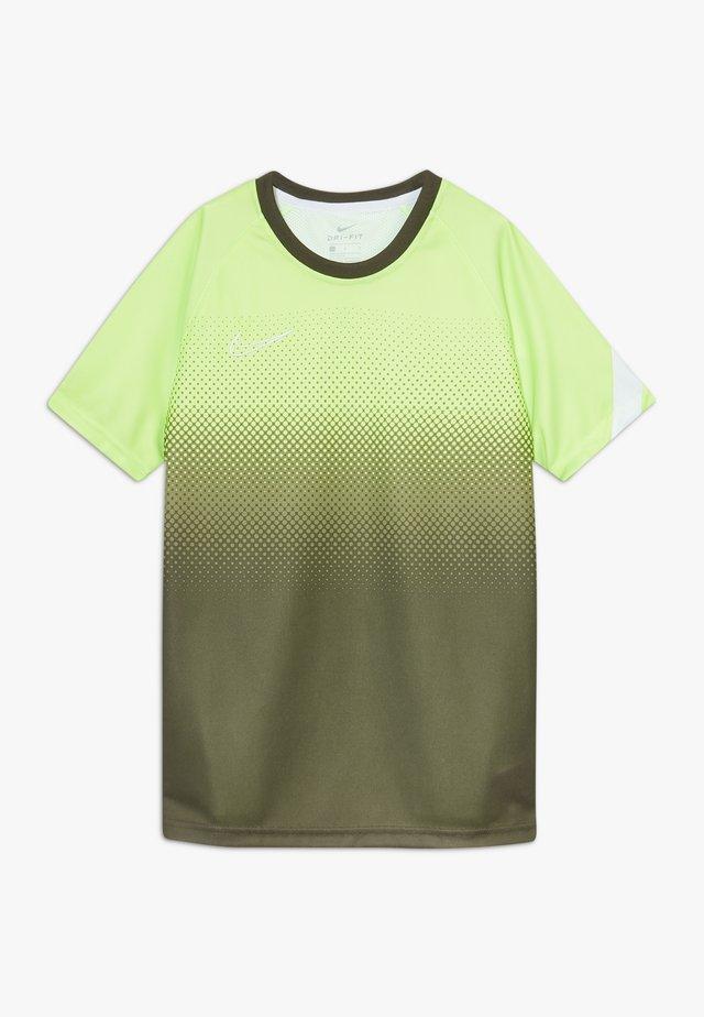 DRY ACADEMY  - Camiseta de deporte - ghost green/white