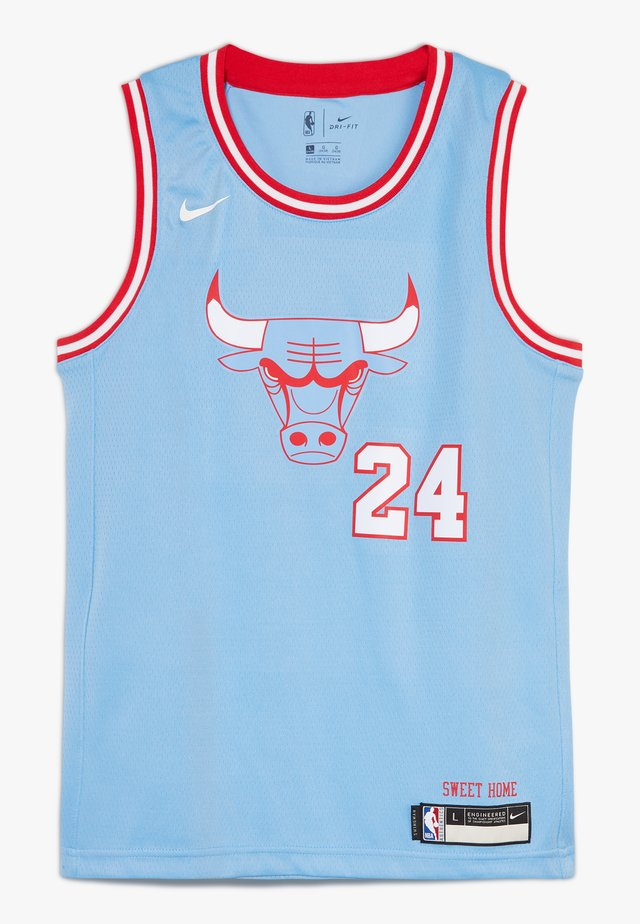 NBA CHICAGO BULLS MARKKANENLAURI BOYS CITY EDITION SWINGMAN  - Vereinsmannschaften - valor blue