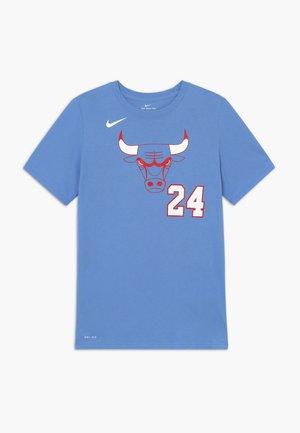 NBA CHICAGO BULLS  MARKKANENLAURI CITY EDITION - Club wear - valor blue