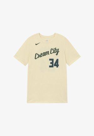 NBA MILWAUKEE BUCKS ANTETOKOUNMPO GIANNIS - Oblečení národního týmu - flat opal