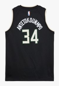 Nike Performance - NBA ANTETOKOUNMPO GIANNIS MILWAUKEE BUCKS STATEMENT SWINGMAN  - Klubové oblečení - black - 1