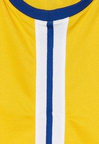 Nike Performance - NBA CURRY STEPHEN GOLDEN STATE WARRIORS STATEMENT SWINGMAN  - Klubové oblečení - amarillo - 3