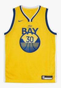 Nike Performance - NBA CURRY STEPHEN GOLDEN STATE WARRIORS STATEMENT SWINGMAN  - Klubové oblečení - amarillo - 0