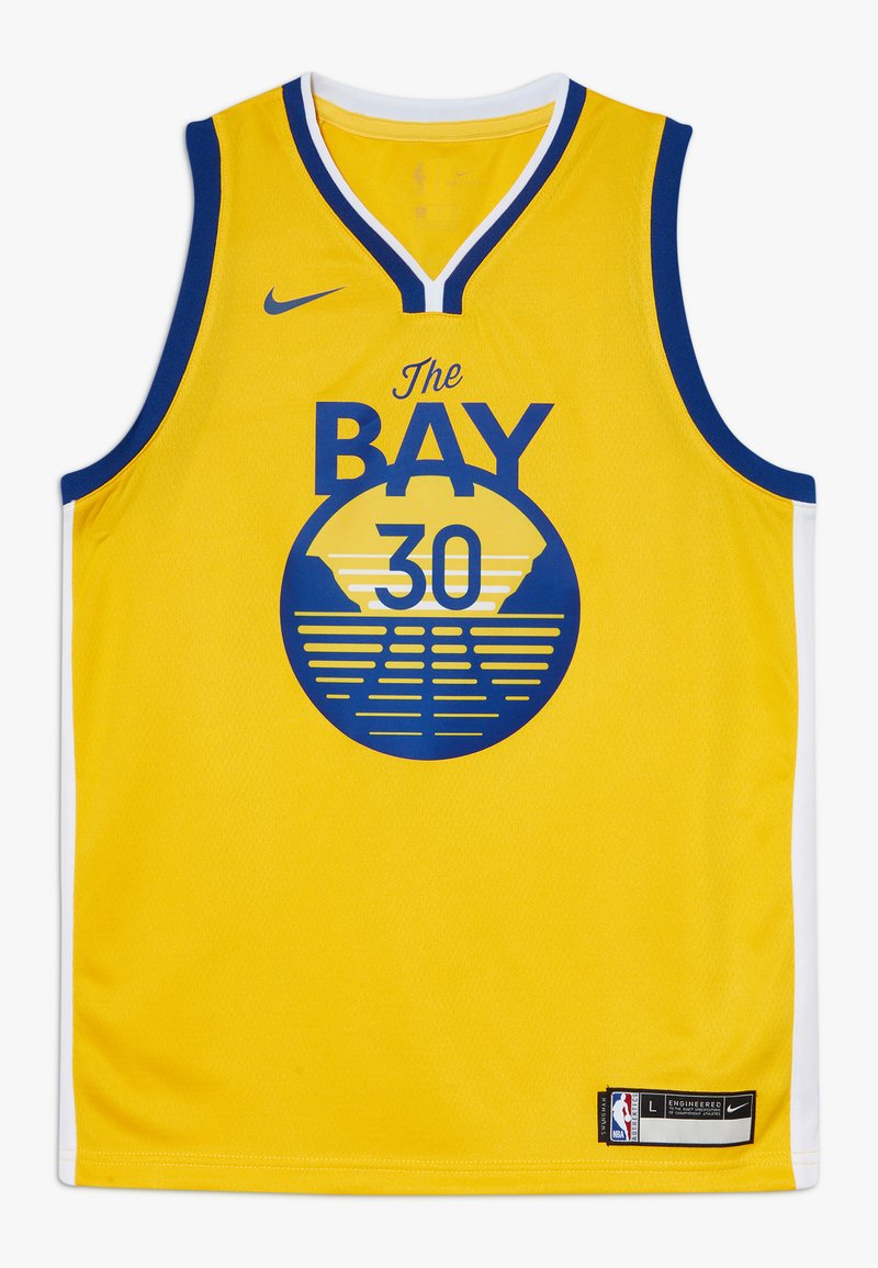 Nike Performance - NBA CURRY STEPHEN GOLDEN STATE WARRIORS STATEMENT SWINGMAN  - Klubové oblečení - amarillo