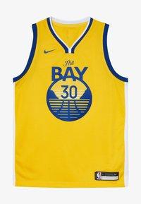 Nike Performance - NBA CURRY STEPHEN GOLDEN STATE WARRIORS STATEMENT SWINGMAN  - Klubové oblečení - amarillo - 2