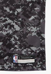Nike Performance - NBA DEROZAN DEMAR SAN ANTONIO SPURS CITY EDITION SWINGMAN  - Klubové oblečení - black - 2