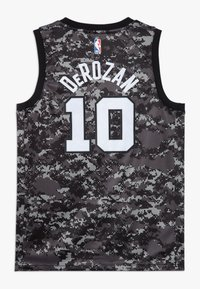 Nike Performance - NBA DEROZAN DEMAR SAN ANTONIO SPURS CITY EDITION SWINGMAN  - Klubové oblečení - black - 1