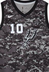 Nike Performance - NBA DEROZAN DEMAR SAN ANTONIO SPURS CITY EDITION SWINGMAN  - Klubové oblečení - black - 5