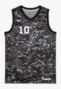 Nike Performance - NBA DEROZAN DEMAR SAN ANTONIO SPURS CITY EDITION SWINGMAN  - Klubové oblečení - black - 0