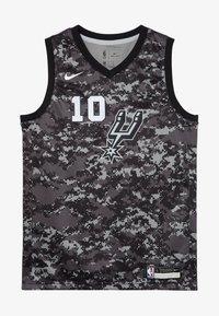 Nike Performance - NBA DEROZAN DEMAR SAN ANTONIO SPURS CITY EDITION SWINGMAN  - Klubové oblečení - black - 4