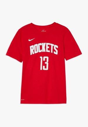 NBA HARDEN JAMES HOUSTON ROCKETS ICON TEE - Triko spotiskem - university red