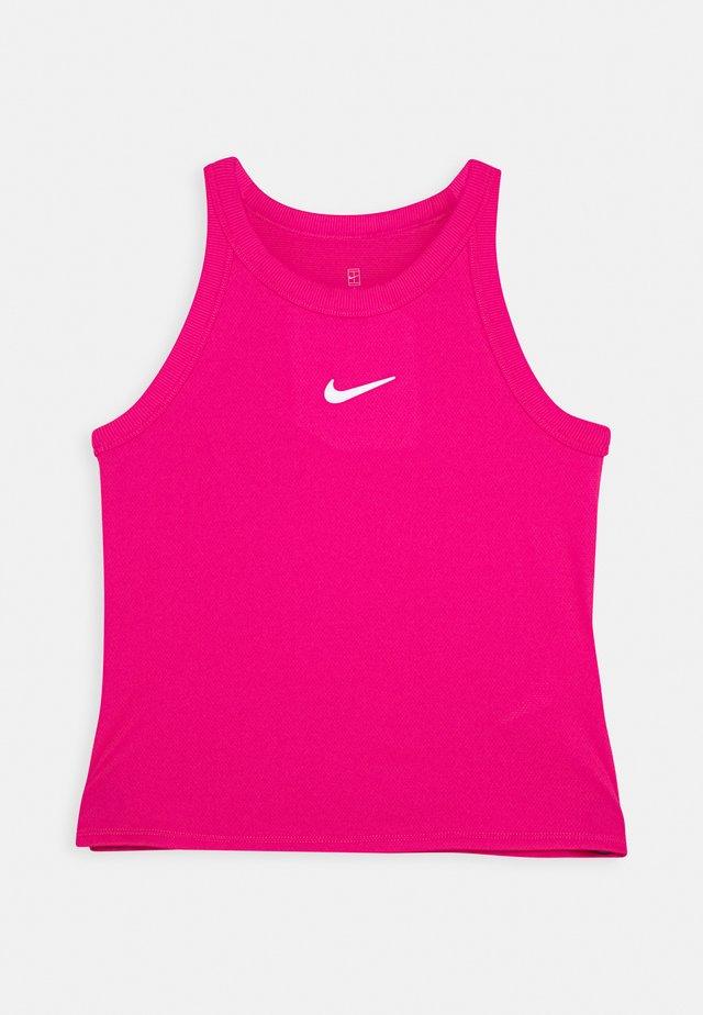DRY TANK - Sportshirt - vivid pink/white