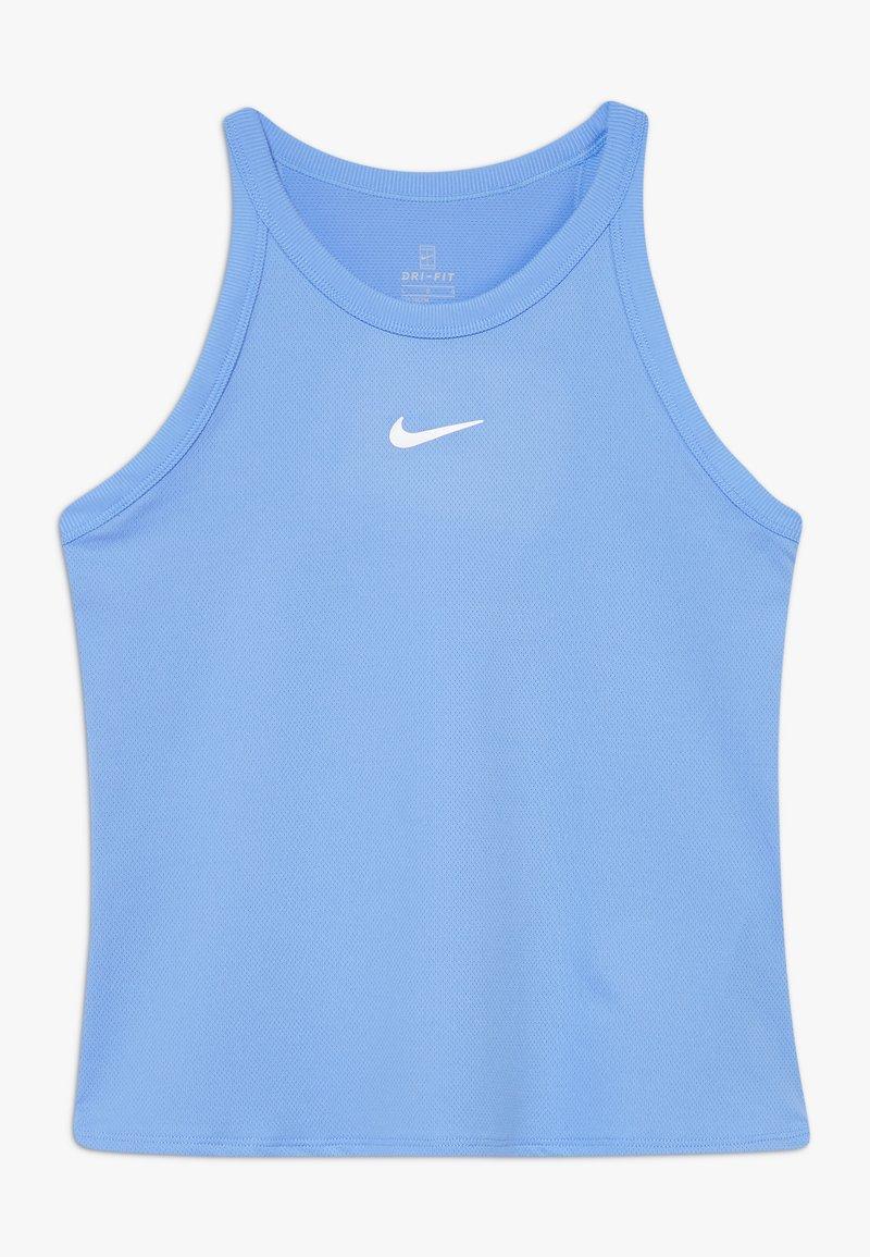 Nike Performance - DRY TANK - T-shirt sportiva - royal pulse/white