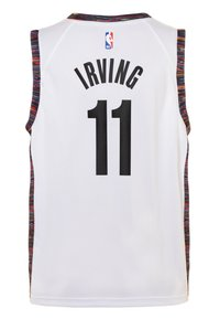 Nike Performance - NBA KYRIE IRVING BROOKLYN NETS CITY EDITION - Funkční triko - white - 1