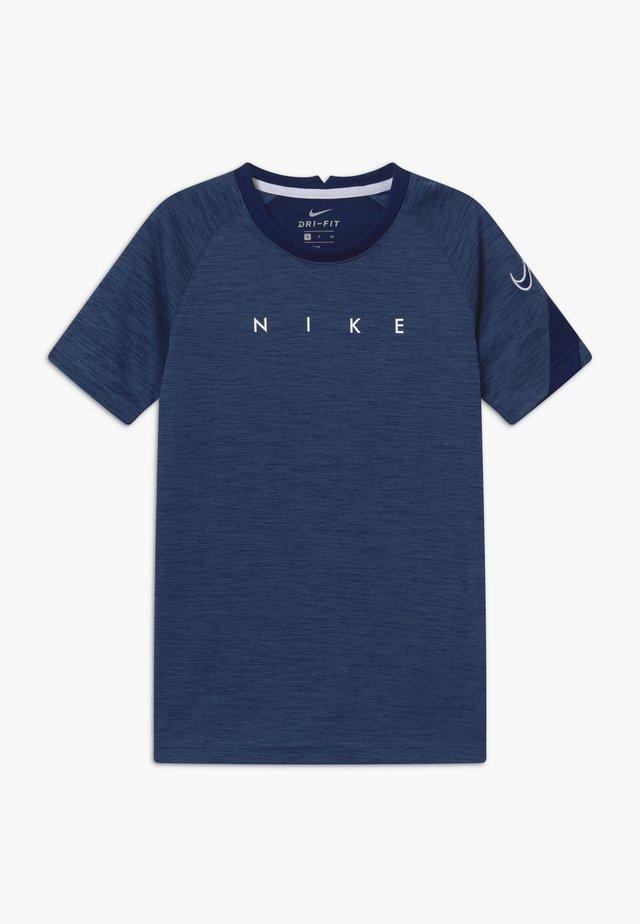 ACADEMY - T-Shirt print - blue void/white