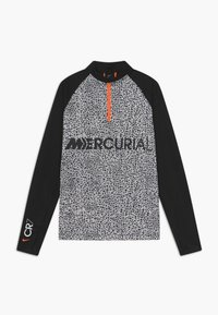 Nike Performance - CR7 DRY DRIL - Fleecová mikina - black/white - 0