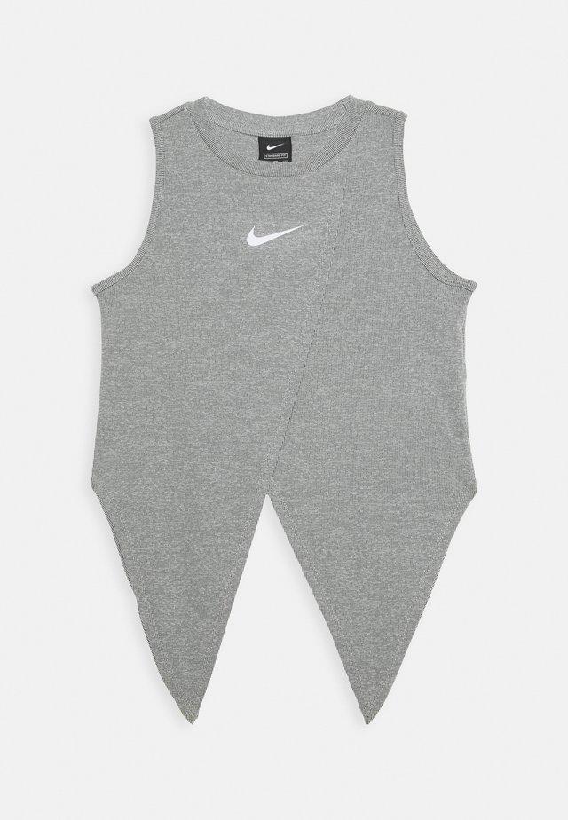 TIE - Sportshirt - black/white