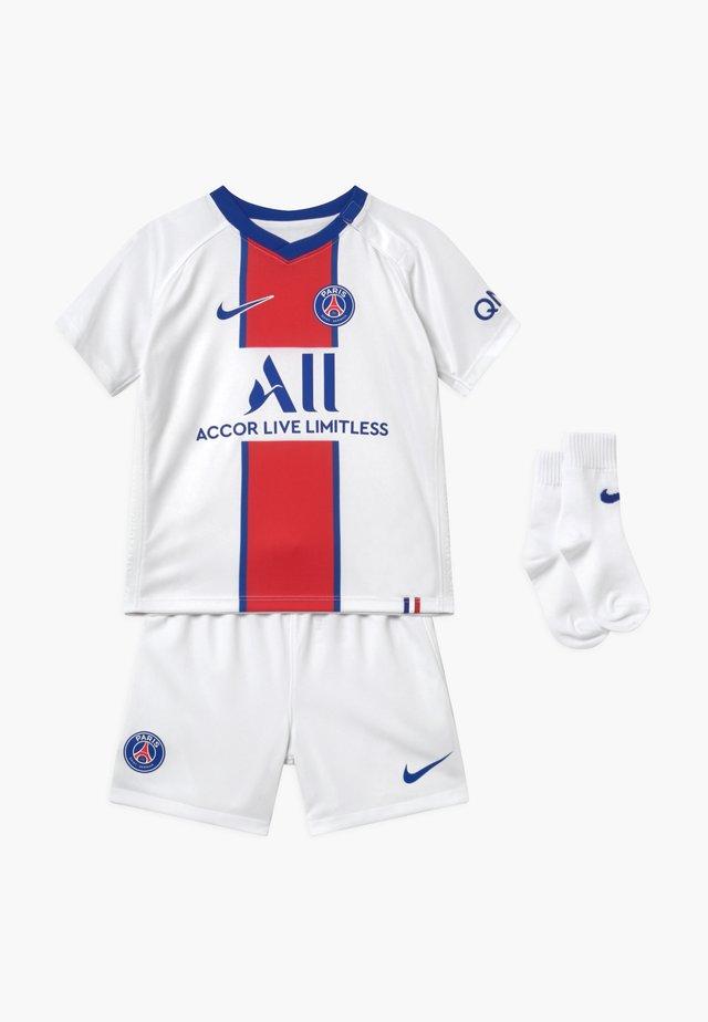 PARIS ST GERMAIN SET - Pantaloncini sportivi - white/old royal
