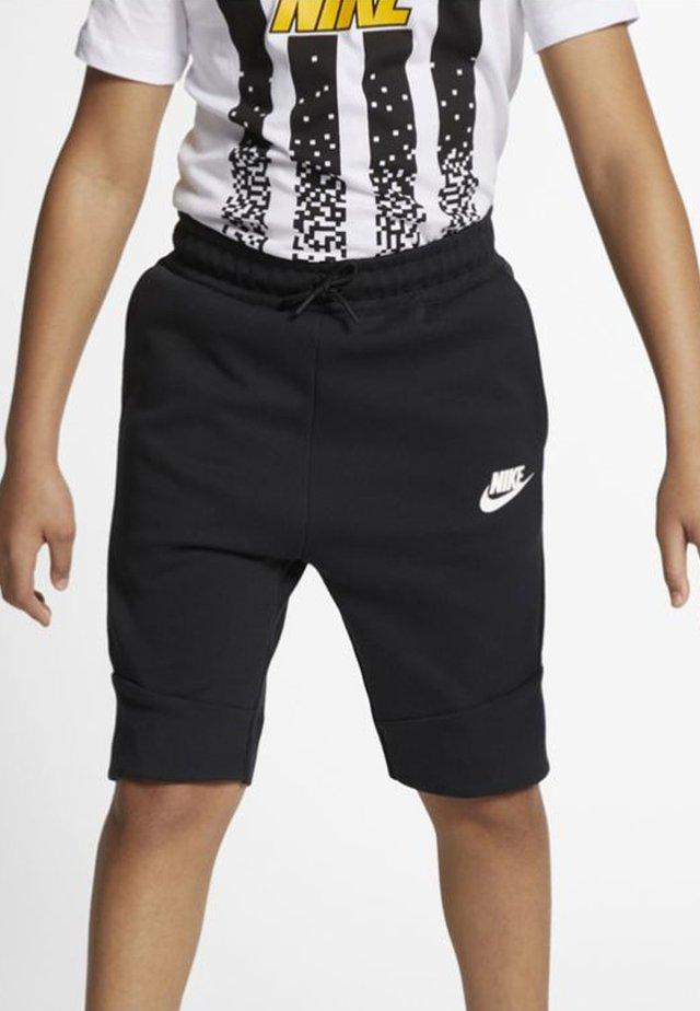 SHORT - Shorts - black/white