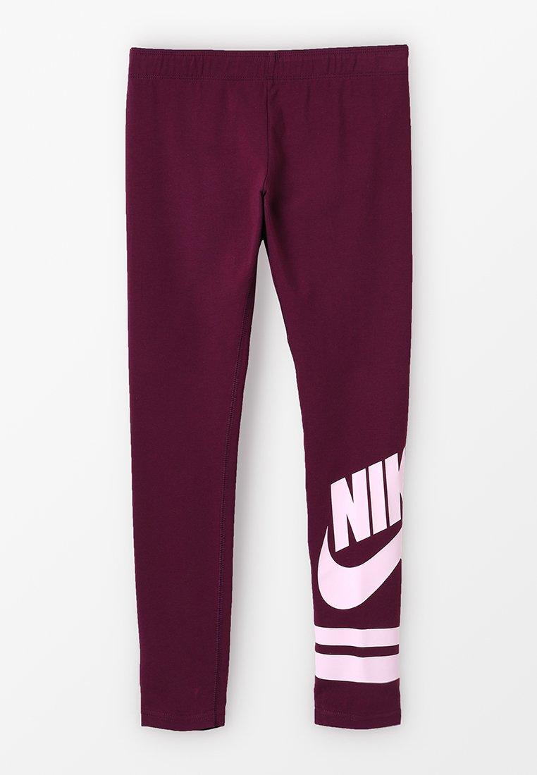Nike Performance - FAVORITE - Leggings - bordeaux/pink foam