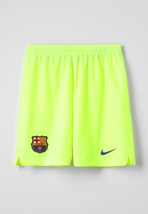 FC BARCELONA SHORT  - Pantaloncini sportivi - neon yellow
