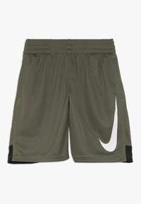 Nike Performance - DRY SHORT - Träningsshorts - medium olive/black/white - 0