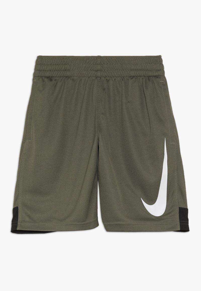 Nike Performance - DRY SHORT - Krótkie spodenki sportowe - medium olive/black/white