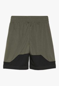 Nike Performance - DRY SHORT - Träningsshorts - medium olive/black/white - 1