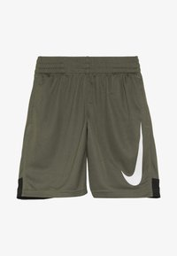 Nike Performance - DRY SHORT - Träningsshorts - medium olive/black/white - 2