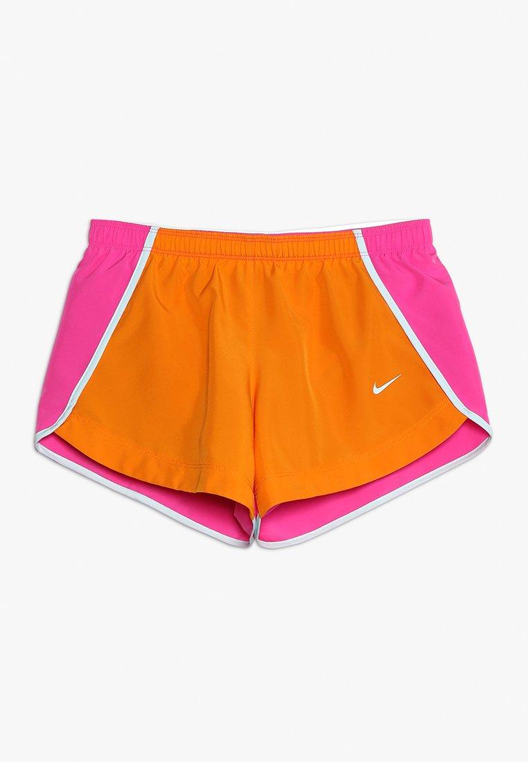 Nike Performance - DRY SHORT RUN - Sports shorts - orange peel/laser fuchsia/teal tint