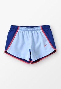 Nike Performance - DRY SHORT RUN - Korte broeken - aluminum/indigo force/ember glow/ember glow - 0