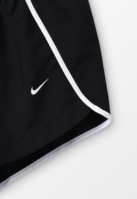 Nike Performance - DRY SHORT RUN - Korte broeken - black/white - 4