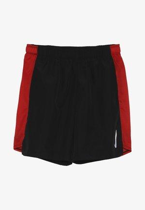 SHORT CHALLENGER - Short de sport - black/university red