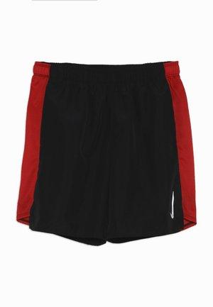 SHORT CHALLENGER - Sportovní kraťasy - black/university red