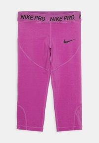 Nike Performance - 3/4 sports trousers - active fuchsia/black - 0