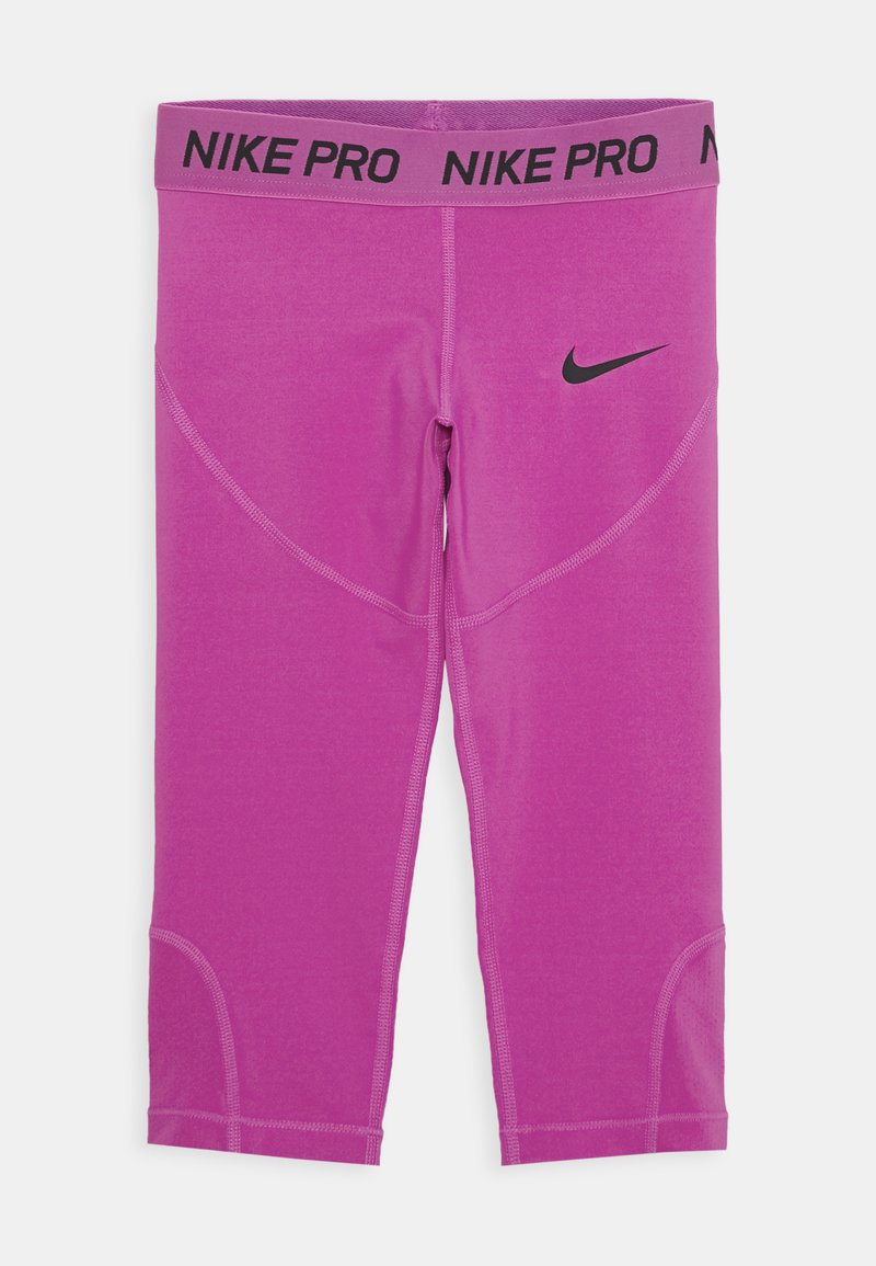 Nike Performance - 3/4 sports trousers - active fuchsia/black
