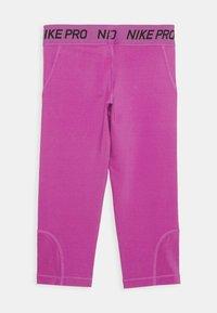Nike Performance - 3/4 sports trousers - active fuchsia/black - 1