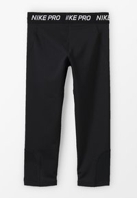 Nike Performance - 3/4 sports trousers - black/white - 1