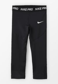 Nike Performance - 3/4 sports trousers - black/white - 0