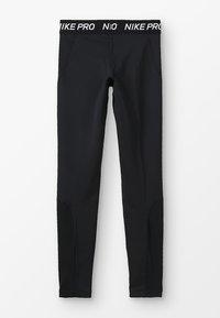 Nike Performance - Legging - black/black/white - 1