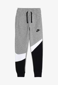 Nike Performance - PANT - Træningsbukser - dark grey heather/black/white - 4