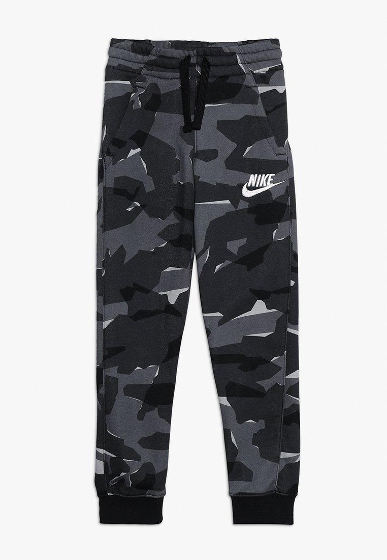 Nike Performance - CLUB - Jogginghose - black/white
