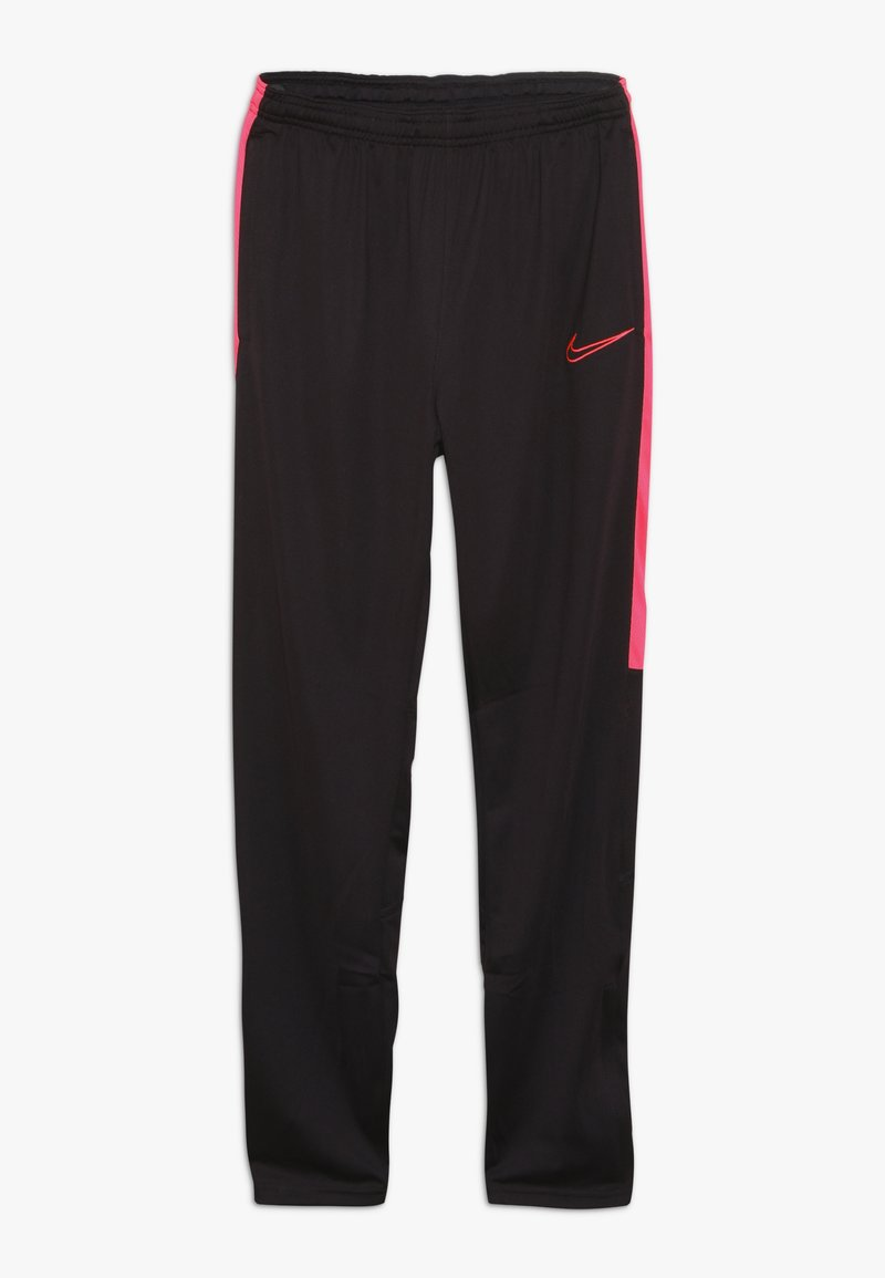 Nike Performance - DRY ACADEMY PANT - Tracksuit bottoms - burgundy ash/racer pink