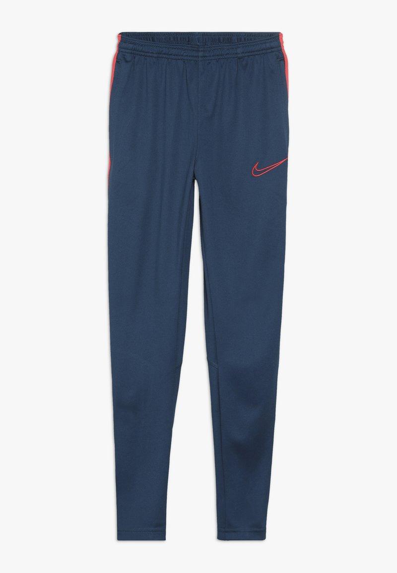 Nike Performance - DRY ACADEMY PANT - Tracksuit bottoms - valerian blue/laser crimson