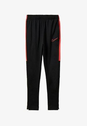 DRY ACADEMY PANT - Spodnie treningowe - black/ember glow