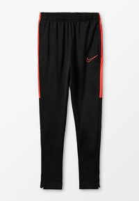 Nike Performance - DRY ACADEMY PANT - Tracksuit bottoms - black/ember glow - 0